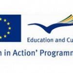 Il logo del programma europeo Gioventù in Azione - Youth in action